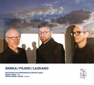 Pierre-André Valade joue trois créations mondiales : Filidei, Lazkano et Srnka