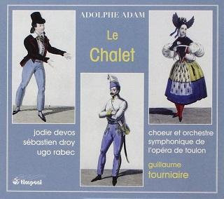 Guillaume Tourniaire joue Le chalet (1834), un opéra-comique d'Adolphe Adam