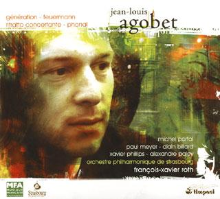 quatre œuvres pour orchestre de Jean-Louis Agobet