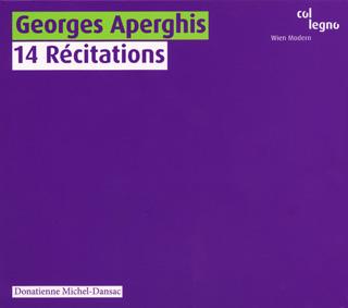 Georges Aperghis | 14 récitations