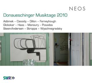 archives Donaueschinger Musiktage 2010