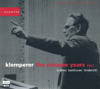 archives Otto Klemperer | Beethoven – Brahms – Hindemith (vol.1)
