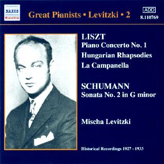 archives Mischa Levitzki | enregistrements 1927-1933 (vol.2)