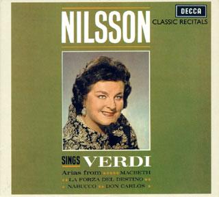 archives Birgit Nilsson | récital Verdi (1962)