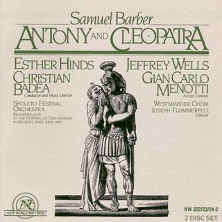 Samuel Barber | Antony and Cleopatra