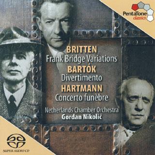 Gordan Nikolić et le Nederlands Kamer Orkest   Bartók – Britten – Hartmann