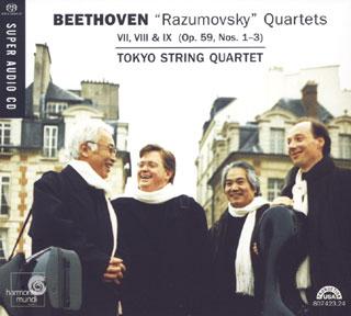Ludwig van Beethoven   Quatuors à cordes Op.59