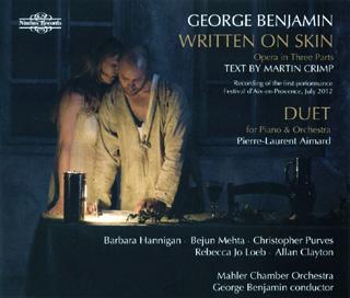 Written on Skin, opéra de Benjamin