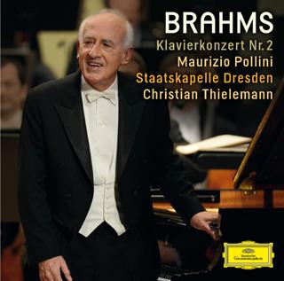 Thielmann et Pollini jouent le Concerto pour piano Op.83 n°2 de Brahms