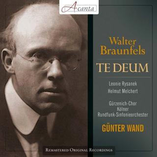 Günter Wand joue Te Deum (1922) de Walter Braunfels