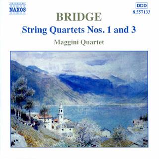 Frank Bridge | Quatuors à cordes n°1 – n°3