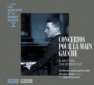 Paul Polivnick joue deux concerti pour la main gauche de Britten et Korngold