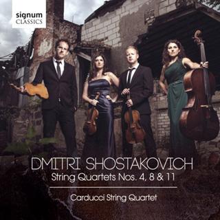 Le Quatuor Carducci joue Chostakovitch (les opus 83, 110 et 122)
