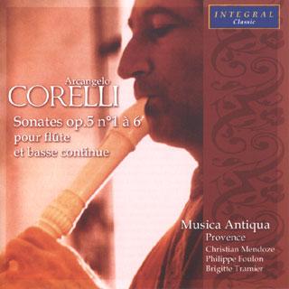 Arcangelo Corelli | Sonates pour flûte Op.5 n°1 à n°6