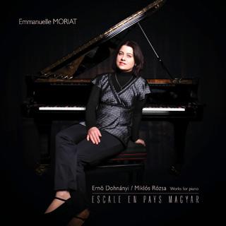 La pianiste Emmanuelle Moriat joue les Hongrois Dohnányi et Rózsa