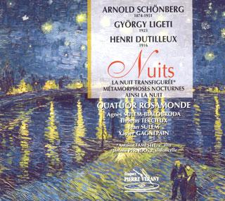 récital Quatuor Rosamonde | Dutilleux – Ligeti – Schönberg