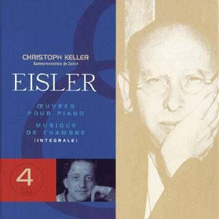 Hanns Eisler | œuvres pour piano – musique de chambre (intégrale)