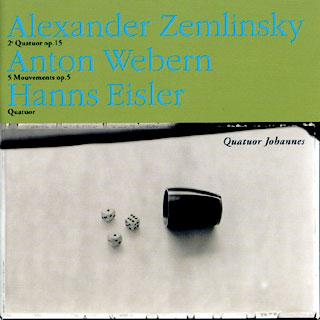 récital Quatuor Johannes | Eisler – Webern – Zemlinsky