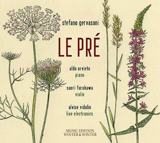 Le pianiste Aldo Orvieto joue Prés, cycle de Stefano Gervasoni (né en 1962)