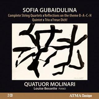 Le Quatuor Molinari joue Sofia Goubaïdoulina (née en 1931)