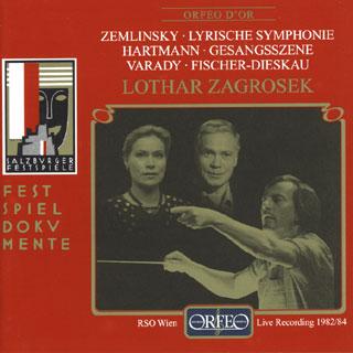 Hartmann – Zemlinsky   œuvres symphoniques