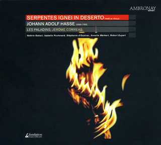 Johann Adolf Hasse | Serpentes ignei in deserto