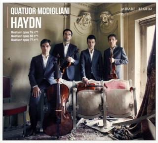 Les Modigliani jouent trois quatuors à cordes de Joseph Haydn