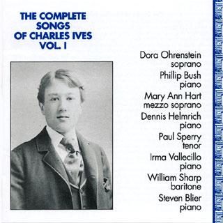 Charles Ives | intégrale des mélodies (vol. 1)