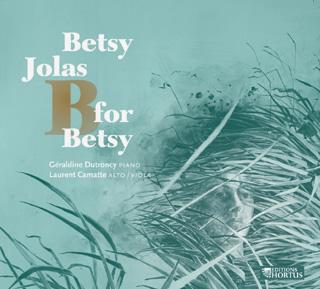 Betsy Jolas | pièces pour piano et pour alto