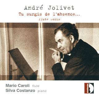 André Jolivet   œuvres pour flûte