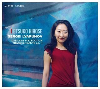 Etsuko Hirose joue les douze études de l'opus 11 de Sergueï Liapounov