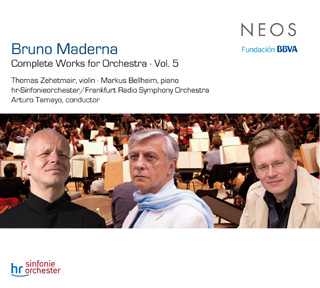 Tamayo joue Maderna : Concerto pour violon et Concerto pour piano