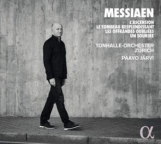 À la tête du Tonhalle-Orchester Zürich, Paavo Järvi joue Messiaen (1908-1992)