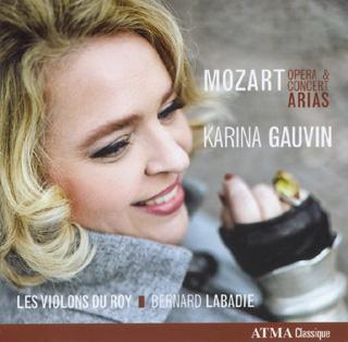 le soprano Karina Gauvin chante des airs de concert et d'opéra de Mozart