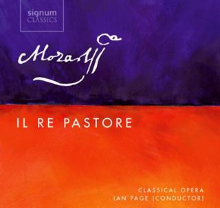Ian Page joue Il re pastore (1775), opéra de jeunesse de Mozart