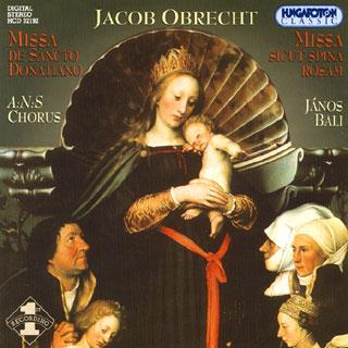Jacob Obrecht | œuvres sacrées