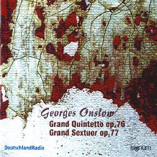 Georges Onslow | œuvres avec cordes