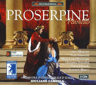 Giovanni Paisiello | Proserpine