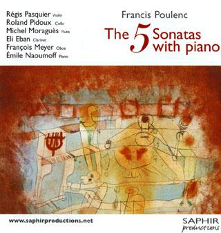 Francis Poulenc | sonates avec piano