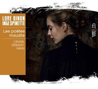 Le soprano Lore Binon chante les poètes maudits de Crumb, Debussy et Hahn