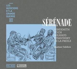 Le Quatuor Calidore joue Hindemith, La Presle, Milhaud, Stravinsky et Toch