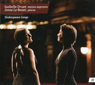 Le mezzo-soprano Isabelle Druet chante l'univers de Shakespeare
