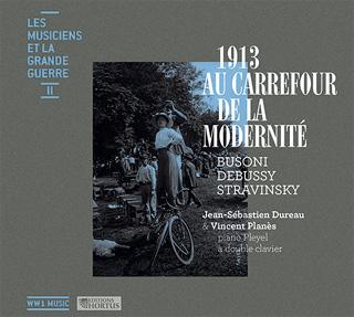 Les pianistes Dureau et Planès jouent Busoni, Debussy et Stravinsky