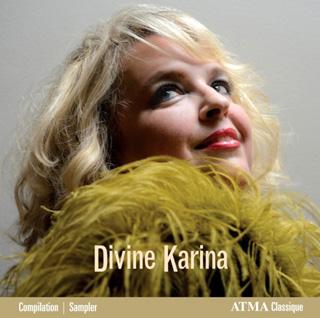 Le soprano Karina Gauvin chante Bach, Boismortier, Britten, Händel, etc.