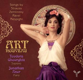 Teodora Gheorghiu chante Ravel – Respighi – Strauss – Zemlinsky