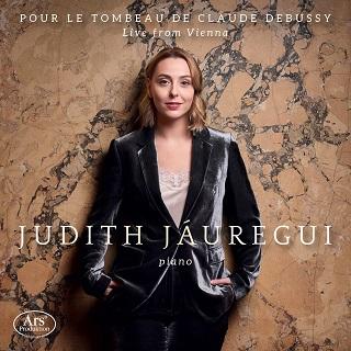 """""""Pour le tombeau de Claude Debussy"""", nouveau CD de la pianiste Judith Jáuregui"""