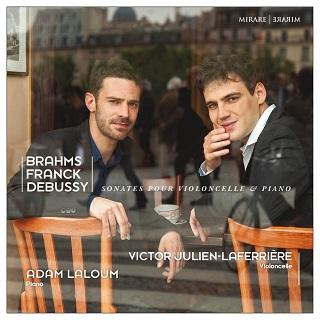 Adam Laloum et Victor Julien-Laferrière jouent Brahms, Debussy et Franck