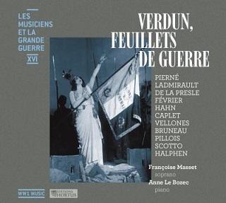 Le soprano Françoise Masset chante Verdun par les compositeurs au front