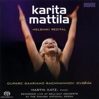 récital Karita Mattila | Duparc – Dvořák – Rachmaninov – Saariaho