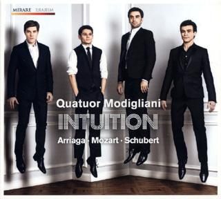 Arriaga, Mozart et Schubert par les Modigliani
